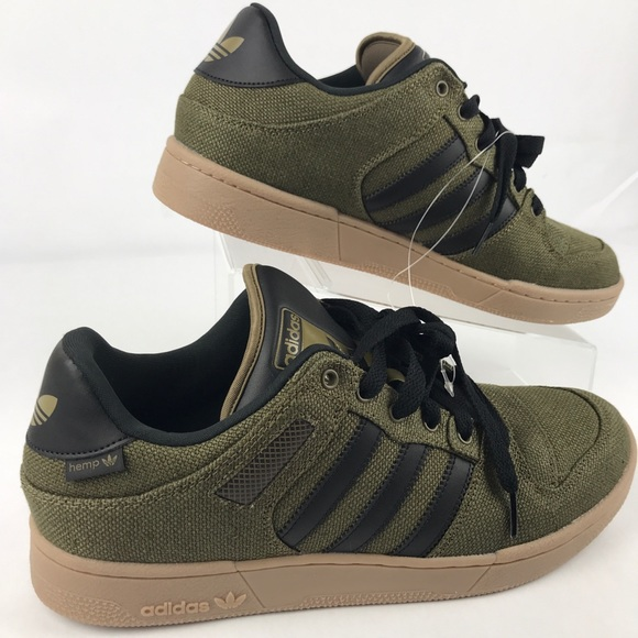 the best attitude 5feef ca18e Mens Adidas Bucktown Athletic Shoe Olive Hemp
